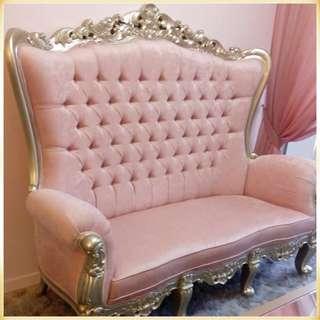 Pink, Plush & Plumped #ParisHomeClients