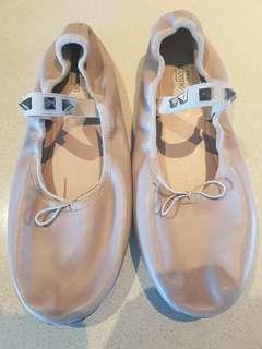 Valentino rockstud ballet flats