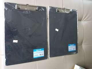 Plastic clip boards