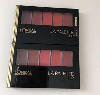 *Brand New* L'Oréal LA Palette Lip