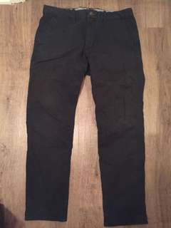 Gap black pants size 33x30