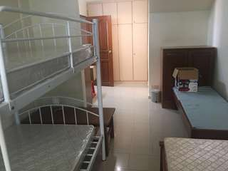 Room rental at thrift drive for 2 to 3 pax
