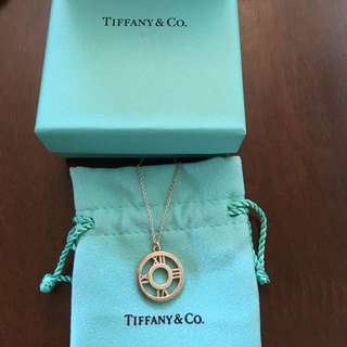 Genuine Tiffany's Atlas pendant necklace