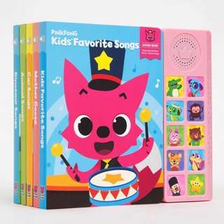 🚚 PinkFong Baby Shark Children's Songs Book (English)