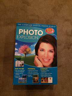 "Photo Explosion ""New Ver 3"" Photo Editing Software for PC and Mac Similar to Adobe Photoshop Brand New price is negotiable"