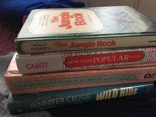 Hard bound book bundle