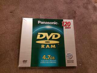 Panasonic LM-AF120U DVD Ram Disc Brand New price is negotiable