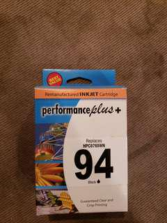 94 Black Ink Cartridge for Hp Printers Brand New price is negotiable