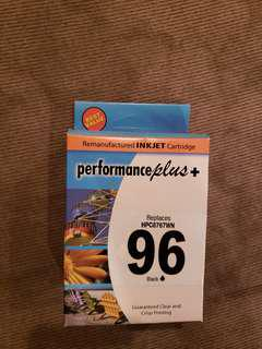 96 Black Ink Cartridge for Hp Printers Brand New price is negotiable