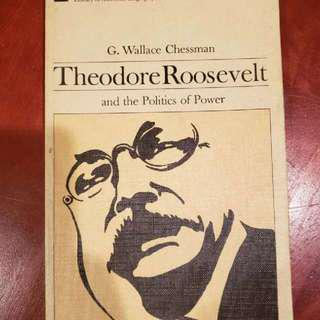 Theodore Roosevelt and the Politics of Power Book History Nonfiction Educational Books vintage 1960s Book Used but in good condition price is negotiable