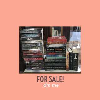Pre-loved Books for Sale!