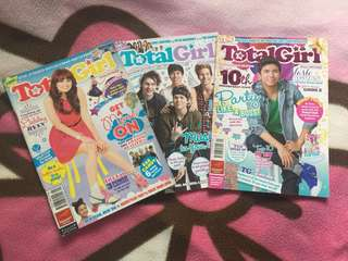 Total Girl 2014 issues