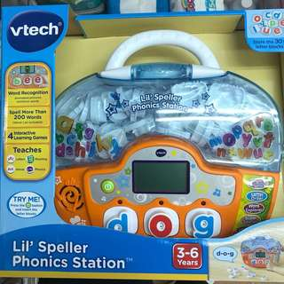 Vtech 玩具- Lil' Speller Phonics Station