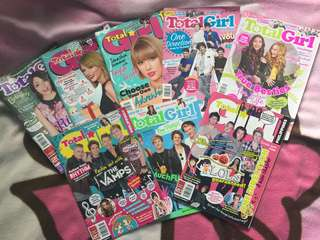 Total Girl 2015 Issues