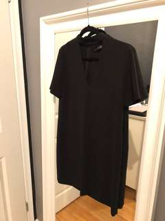 Zara dress with choker - SMALL
