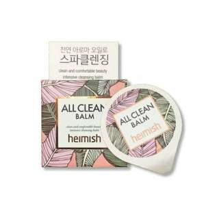 Heimish All Clean Balm Sample Size