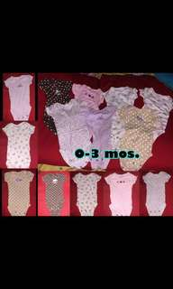 Baby girl's preloved clothes & shoes