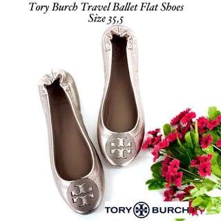 Tory Burch Minnie Travel Flatshoes