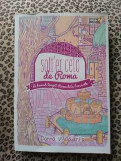 Novel 'Sott'er Celo de Roma'