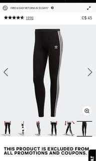 adidas tights xxs