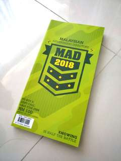 2018 Malaysia Advertising Directory (MAD)