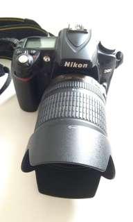 NIKON DSLR D90 with 18-105 Lens