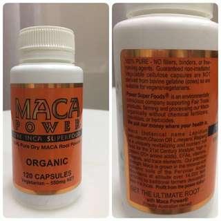 Vitality/ Stamina/ Energy -Organic Maca Supplement