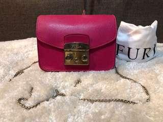 Authentic Furla Metropolis Chain Bag With Dustbag
