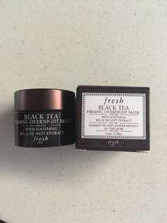 Fresh Black Tea overnight Mask