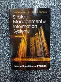 Strategic Management of Information System