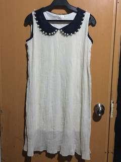 PLITTED SEMI-DRESS
