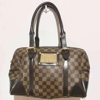 LOUIS VUITTON BROWN CHECKERED BAG