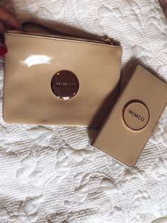 Mimco wallet and iPhone 8plus case