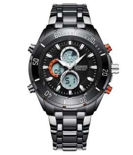 Barkers of Kensington Men's Premier Sport Black Watch