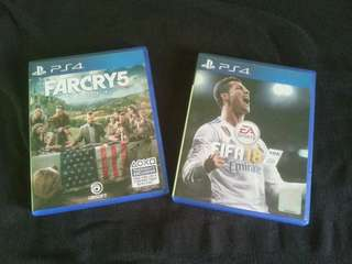 Ps4 Far Cry 5 / Fifa 18