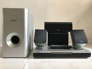 Pioneer 5.1 home theater system