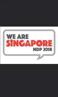 Trading of Ndp 2018 tickets.
