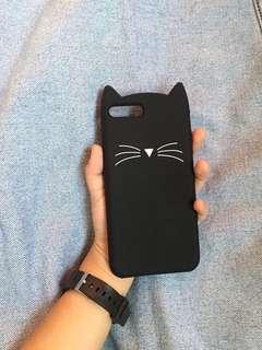 Black Cat Phone Case for Iphone 7plus