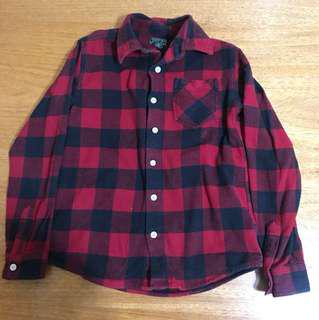 Roots Flannel/ Plaid button up