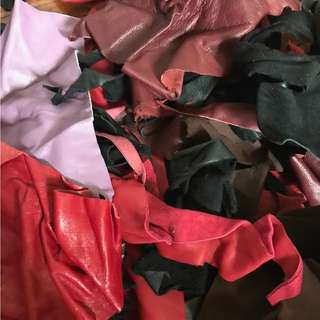 Assorted Leather Swatches