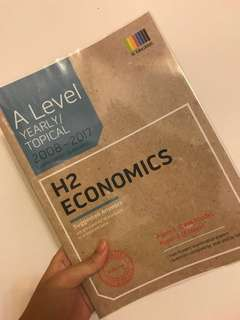 A Level Yearly/Topical H2 Economics TYS