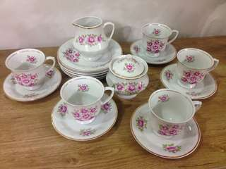 Cup and Saucer Set from Holland