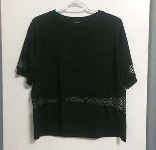 BRANDY MELVILLE shirt w/ mesh details