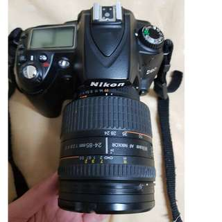 NIKON D90 with Tamron 18-270mm lens + Nikkor 24-85mm with macro lens