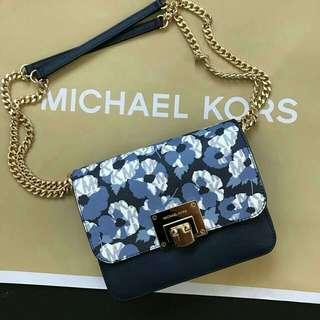READY STOCK Auth. Michael Kors Tina Reversible Flap Shoulder Bag