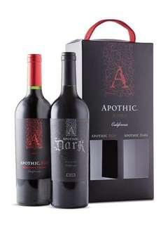美國2016apothic紅酒(禮盒裝)
