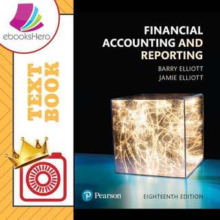 Financial Accounting and Reporting by Barry, Jamie Elliot