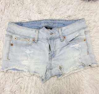 AMERICAN EAGLE low waist denim shorts