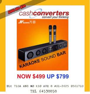 JY audio karaoke soundbar