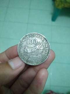 Uang koin Rp. 100 tahun 1978